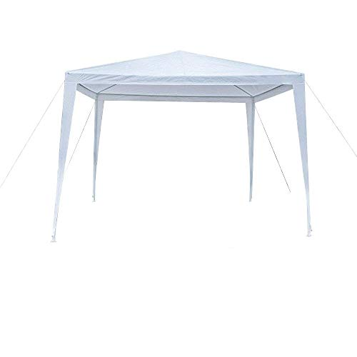 mefeir 10'x10' Party Tent Gazebo Canopy vingli with Waterproof Sun Shelter UV Protection ,Thicken and Larger Tube for Beach, Wedding, Pool, Lawn