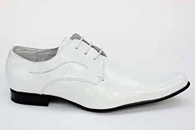 mens formal lace ups white smart shoes co uk
