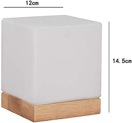 Taid Lampe De Table De Chevet Lumiere De Nuit Blanche Cube