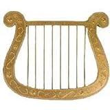 Harp, gold, 25 x 30 cm