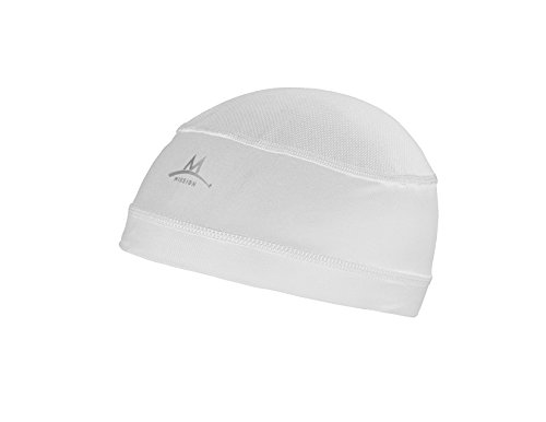 Mission Enduracool Cooling Helmet Liner, White, One Size