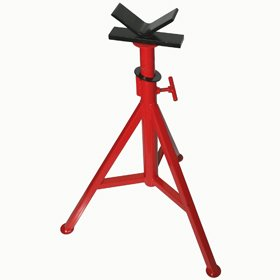 Pipe Jack Stands >> Pt 56662 V Head Pipe Stand 28 48 Adjustable Pipe Jack Pipe