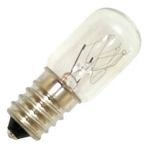 Bulbrite 715002 – 8 Watt Light Bulb – T5.5 – 60 Volt – Clear – European Base – 3,000 Life Hours