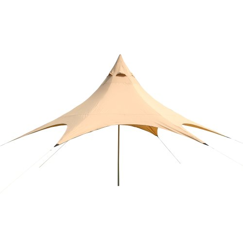 10T Captiva 6 Sun Canopy 350 x 350 x 350 x 400 cm Beige