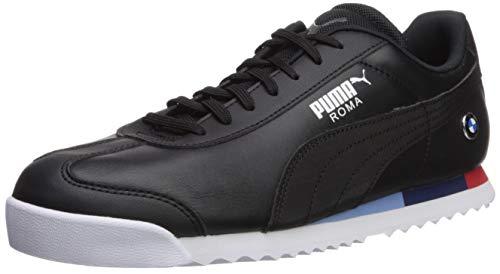 (PUMA Men's BMW MMS Roma Sneaker Black, 9.5 M US )