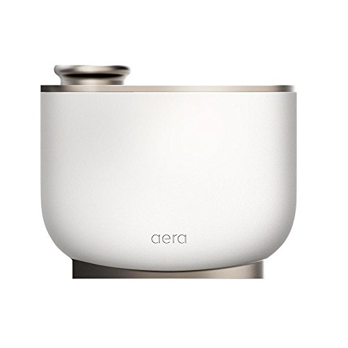 Aera Touch Diffuser For Essential Oils and Home Fragrances, Home Deodorizing System, Adjustable to Any Living Space, Works Exclusively With Aera Capsules (Capsules Not Included, Manual Interface)