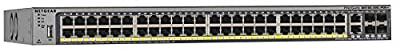NETGEAR ProSAFE M4100-D12G 12-Port Gigabit Managed Switch w/ Fiber SFP Uplinks (GSM5212-100NES)