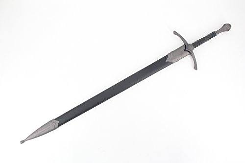 Vulcan Gear Medieval Crusader Sword with Scabbard - Choose Your Style (Knight's Sword Carbon Steel Color) by Vulcan Gear (Image #2)