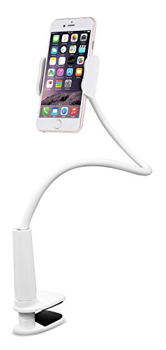 Aduro Solid-Grip 360 Adjustable Universal Gooseneck Smartphone Stand for Desk – Durable,...