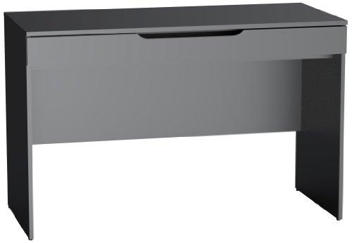 Next Desk with Storage Tray 601806 from Nexera, Black