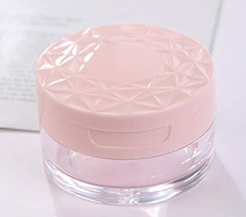 Transparent Acrylic Empty Refillable Powder Puff Box Make