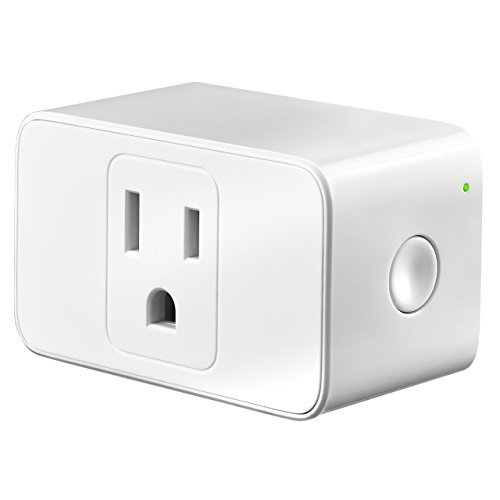 OMORC WiFi Smart Plug, Mini Smart Plug Socket Outlet Compatible with Alexa and Google Assistant, Easy To Set Up, App Control from Anywhere, Timer Function, No Hub Required, Occupy Only 1 Socket