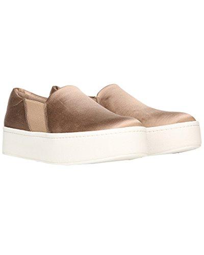 Vince Vrouwen Warren Sneaker Fawn Satijn