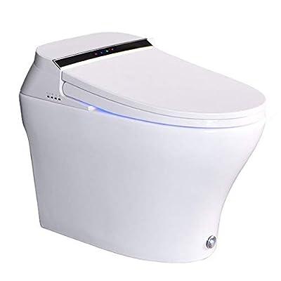 Setrouyo Waterless Box Intelligent Toilet Integrated hot Multi-Function Toilet Wireless Intelligent Remote Control Toilet Elderly Children Toilet Automatic Foot Induction Flush