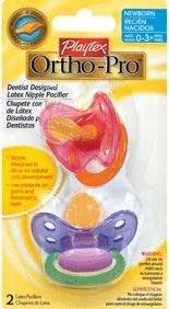 Amazon.com : ORTHOPRO LATEX PACIFIER NEWBRN : Baby ...