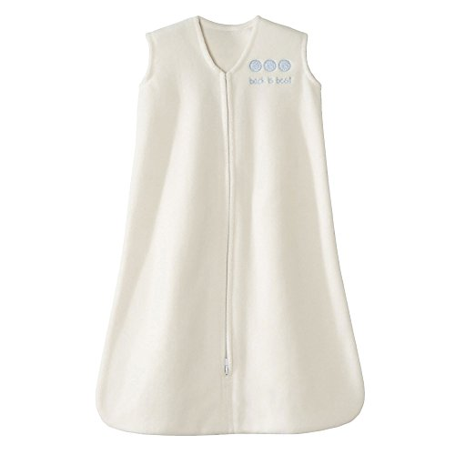 Safe Dreams by Halo Cream Micro-Fleece Sleepsack Wearable Bl