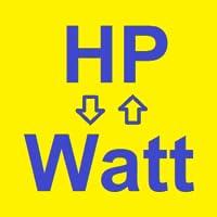 Hp -> Watt -> HP - Converter