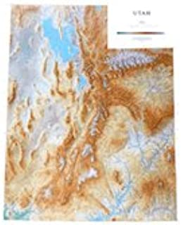 Amazoncom United States Topographic Wall Map By Raven Maps - Map of us topography