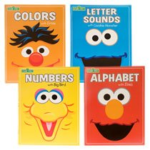Sesame Street Educational Workbook Set (4 Pack) - Big Bird Alphabet