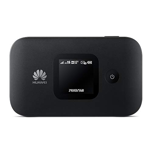 Huawei E5577Cs-321 150 Mbps 4G LTE & 43.2 Mpbs 3G Mobile WiFi Hotspot (4G LTE in Europe, Asia, Middle East, Africa & 3G globally) (Black) ]()