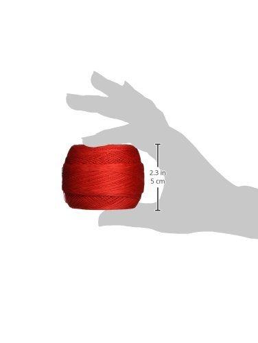 DMC 167GA 30-666 Cebelia Crochet Cotton, 563-Yard, Size 30, Bright Red by DMC (Image #2)