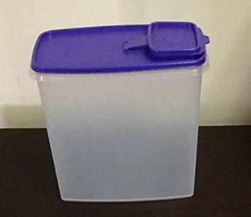 Tupperware Super Cereal Storer 20 Cups Purple Seal (Tupperware Super Cereal)