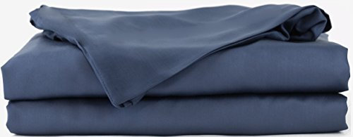 Hotel Sheets Direct 100% Bamboo Bed Sheet Set (Twin, Navy Blue)