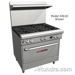 "Southbend 4481EE 400 Series 48"" Restaurant Range w/ 8 Burners & 2 Standard Ovens"