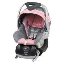 baby trend flex loc 30 lb infant car seat pink mist rear facing child safety. Black Bedroom Furniture Sets. Home Design Ideas