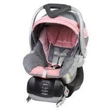 Amazon.com : Baby Trend Flex-Loc 30 lb. Infant Car Seat- Pink Mist