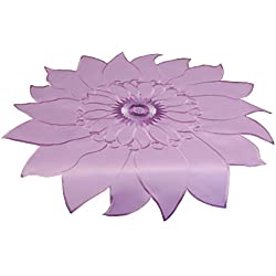 "EcoSol Designs Sunflower Table Topper Centerpiece (33"" x 33"", Lavender)"