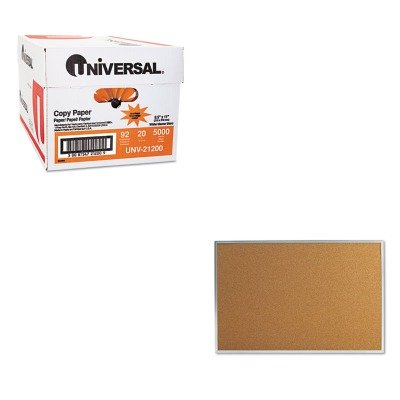 KITUNV21200UNV43613 - Value Kit - Universal Bulletin Board (UNV43613) and Universal Copy Paper (UNV21200)