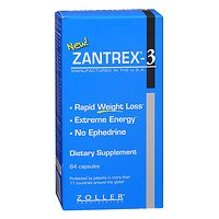 Zantrex Rapid Weight Loss, Extreme Energy, 84 ea - 2pc