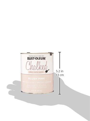 Rust Oleum 285142 Ultra Matte Interior Chalked Paint 30 Oz Blush Pink Buy Online In Uae