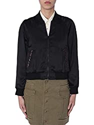 Saint Laurent Women S 552916y161w1000 Black Viscose Jacket