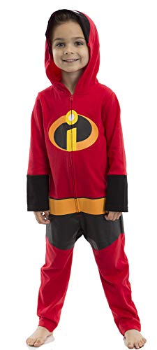 Disney Pixar The Incredibles Baby Boy Girl Costume Coverall with Hood 18 Months]()