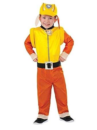 DISBACANAL Disfraz de Rubble Patrulla Canina para niño - -, 3-4 ...