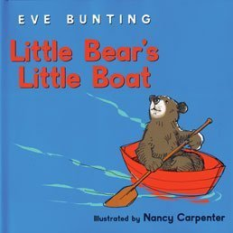 Little Bear's Little Boat 0547719035 Book Cover