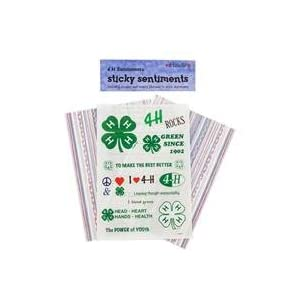 4 H Stickers