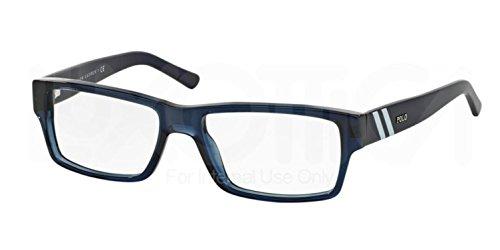 Polo PH2085 Eyeglasses-5276 Dark Blue - Polo Mens Eyeglasses Lauren Ralph