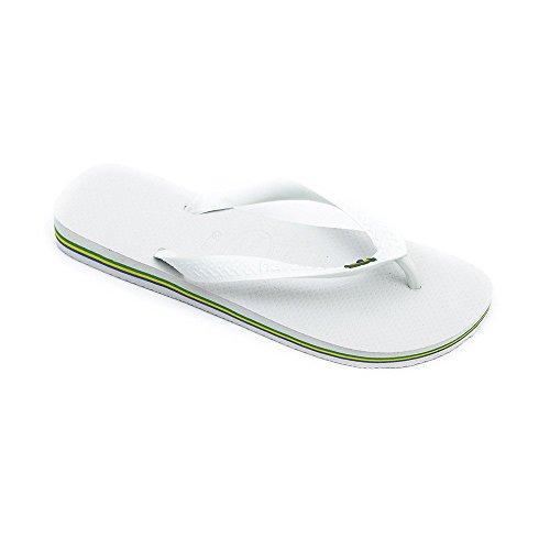 Havaianas Flip Flops - Havaianas Brasil Flip Flops - White