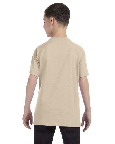 Jerzees Youth Heavyweight Blend T-Shirt, Sandstone, Small (Jerzees Youth Blend Heavyweight)
