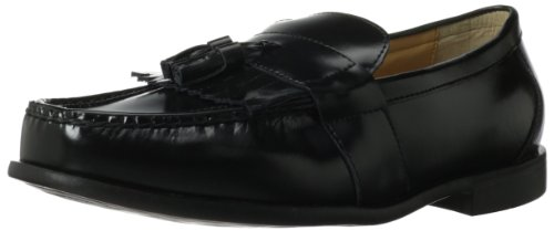 Nunn Bush Men's Keaton Slip-On Loafer,Black,8.5 W US