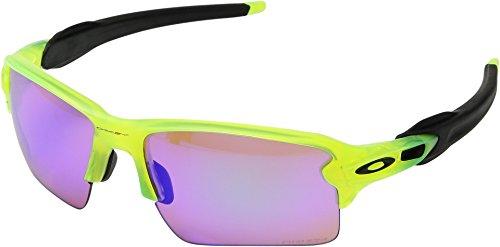 Oakley Men's Flak 2.0 XL OO9188-11 Rectangular Sunglasses, Matte Uranium, 59 mm (Oakley Half Jacket 2.0)