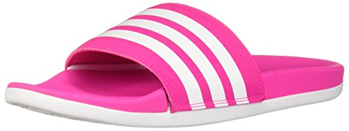 adidas Adilette Cloudfoam Plus Stripes Slides Women's