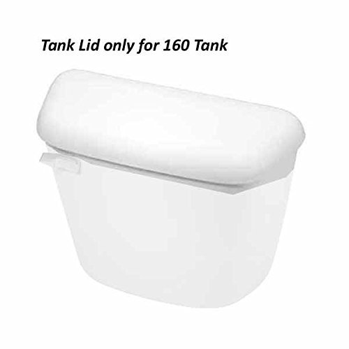 Mansfield 160-LID Mansfield Tank Cover for 160 Tank White