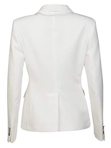 Blanco Mujer Tagliatore Jalicya83004x1228 Blazer Algodon zfFq7