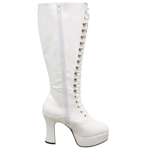 White Funtasma Women's by Exotica Halloween Patent Pleaser 2020X Yw6YqCB