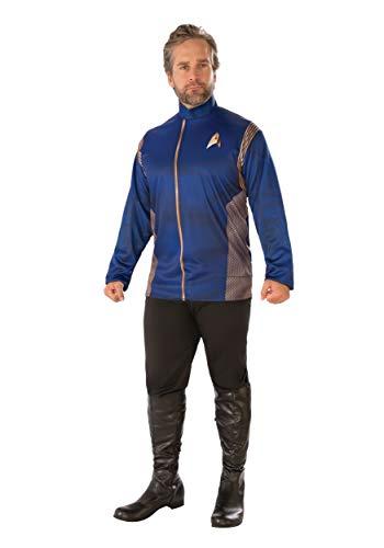 Rubie's Men's Star Trek Discovery Command Long Sleeve Costume Top, multi, Standard