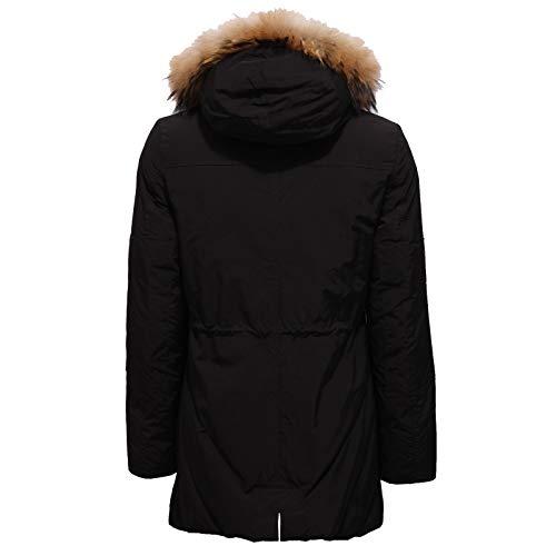 Fur Parka Piumino Nero Jacket 6189x Inside Woolrich Girl Bimba Black fICq54